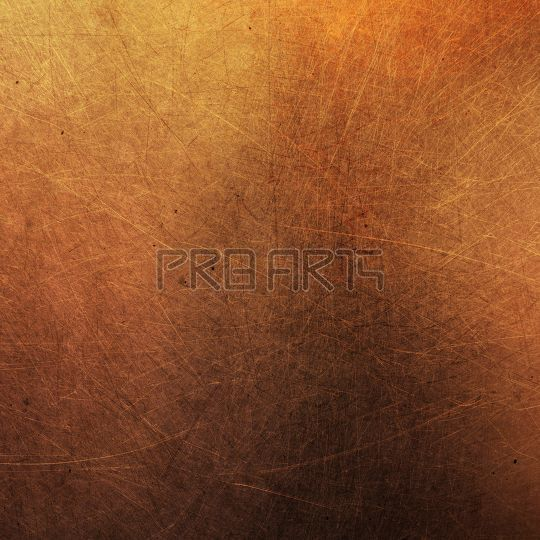 Copper sheet texture high resolution stock image