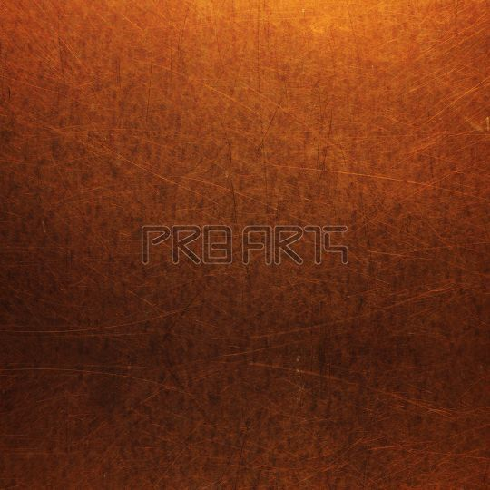 Copper material texture high resolution stock image