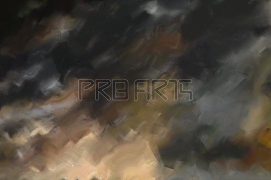 Room decor painting abstract