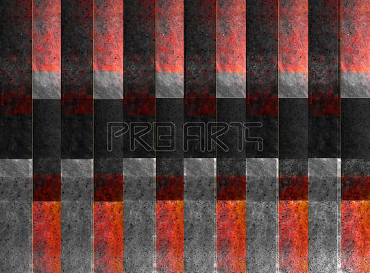 Bronze metal texture red and orange shade background